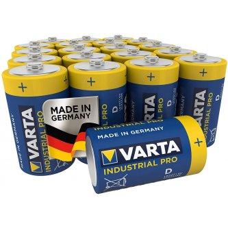 Varta LR20 batteries in sets of 20