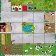 Bee-Bot Farm Carpet