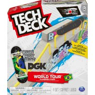 Build A Park World Tour Tech Deck Fingerskate