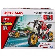 Car And Motorcycle Meccano 5 Models