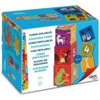 Cubes empilables 10 pièces Cayro