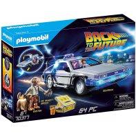 Delorean Playmobil Retour Vers Le Futur 70317