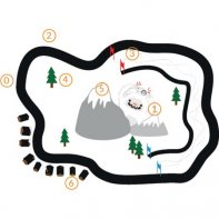 Discovery Map Yéti For Thymio