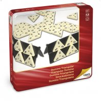 Dominos triangulaires boîte en métal Cayro