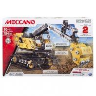 Excavator and Bulldozer Meccano