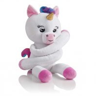 Fingerlings Unicorn White Plush