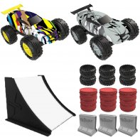 Friction Cars Exost Jump Pack Duo