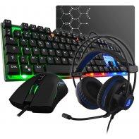 G-Lab Combo Galium keyboard mouse headset gaming