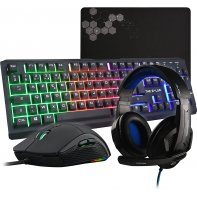 G-Lab Combo Selenium clavier souris casque gaming