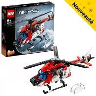 Hélicoptère De Secours LEGO Technic 42092