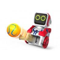 kickabot red toy robot