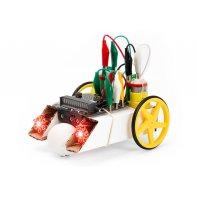 Kit robotique micro:bit : buggy et LED Kitronik