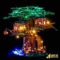 LEGO Arbre maison 21318 Kit Eclairage