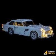 LEGO Aston Martin DB5 10262 Kit Lumière