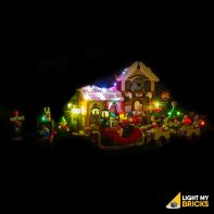 LEGO Atelier père Noël 10245 Kit Eclairage