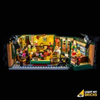 LEGO Central Perk 21319 Kit Lumière