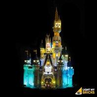 LEGO Château Disney 71040 kit éclairage