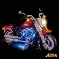 LEGO Harley Davidson 10269 Kit Lumière