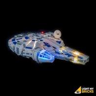 LEGO Millennium Falcon 75212 kit éclairage