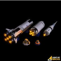 LEGO NASA Apollo 21309 Kit Eclairage