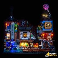 LEGO Ninjago City Docks Kit Lumière