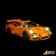 LEGO Porsche 911 GT3 RS 42056 kit éclairage