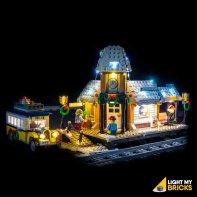 LEGO Station d'hiver 10259 Kit Eclairage