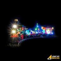 LEGO Train de Noël 10254 Kit Eclairage