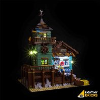Lights For LEGO Fishing Store 21310