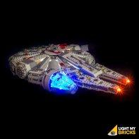 Lumières PLEGO Millennium Falcon 75105