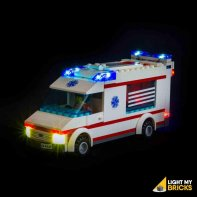 Lumières Pour LEGO Ambulance 4431