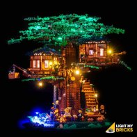 Lumières Pour LEGO Arbre Maison 21318