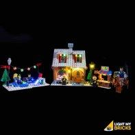Lumières Pour LEGO Boulangerie D'Hiver 10216