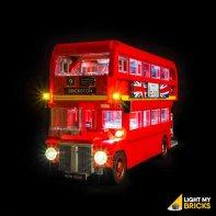 Lumières Pour LEGO Bus Londonien 10258