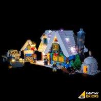 Lumières Pour LEGO Cottage Village Hiver 10229