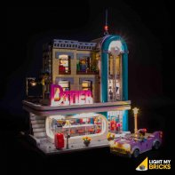 Lumières Pour LEGO Diner Centre Ville 10260