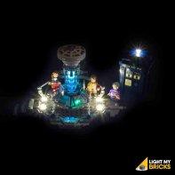 Lumières Pour LEGO Dr Who 21304