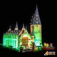 Lumières Pour LEGO Hall Poudlard 75954
