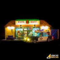 Lumières Pour LEGO Kwik E Mart 71016
