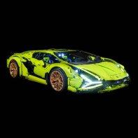 Lumières Pour LEGO Lamborghini Sian FKP 37 42115