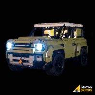 Lumières Pour LEGO Land Rover 42110