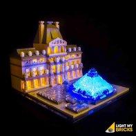Lumières Pour LEGO Louvre 21024