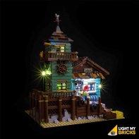 Lumières Pour LEGO Magasin De Pêche 21310