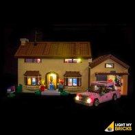 Lumières Pour LEGO Maison Simpsons 71006