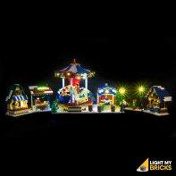 Lumières Pour LEGO Marché D'Hiver 10235