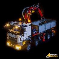 Lumières Pour LEGO Mercedes Arocs 42043