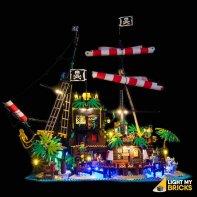 Lumières Pour LEGO Pirates Barracuda 21322