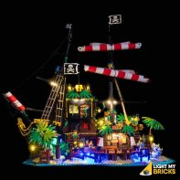 Lumières Pour LEGO Pirates Barracuda bay 21322