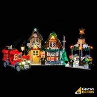 Lumières Pour LEGO Poste Village Hiver 10222