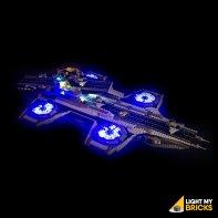 Lumières Pour LEGO Shield Helicarrier 76042